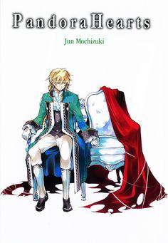 Jack Vessalius's Character Chair  Pandora Hearts : Original Artwork