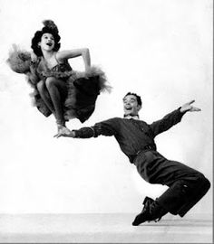 Rachelle Reyes. Amazing dancer.  This actually came off of the 42nd Street Moon Blog. Love that!