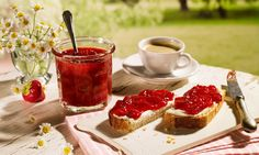 Erdbeer-Konfitüre mit Espresso Rezept | Dr. Oetker