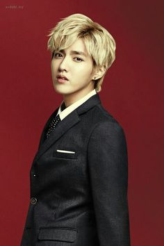 EXO's Kris in IVY Club for Back To School photoshoot.