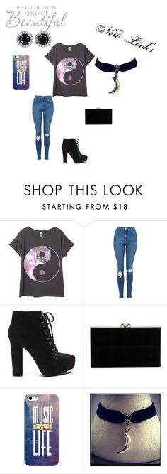 """New Looks"" by lydia-rainbow on Polyvore featuring Topshop, Charlotte Olympia and Casetify"