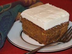 GF Pumpkin Cake Recipe