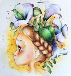 #coloriagewild #emmanuellecolin #colortherapy #colorinthebest #derwent #derwentaquatone #watercoloring #omalovanky