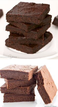 The Best Chocolate Avocado Brownies Recipe - Healthy Fudgy - The easiest best chocolate avocado brownies recipe - SUPER FUDGY You ll never guess they are low carb keto sugar-free gluten-free and even paleo wholesomeyum lowcarb brownies dessert avocado Brownies Keto, Chocolate Avocado Brownies, Brownie Recipes, Cookie Recipes, Dessert Recipes, Low Carb Appetizers, Low Carb Desserts, Guacamole, Crack Crackers