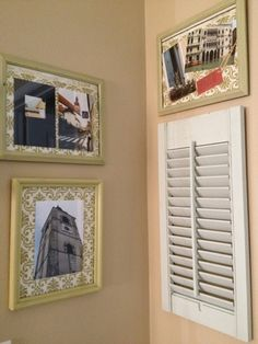 Jed and Ivy: Upcycled Shutter