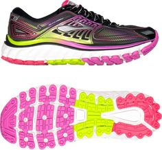 c55b975e76d Brooks Women s Glycerin 13 Road-Running Shoes Black Hyacinth Violet 10.5  Narrow Brooks Running