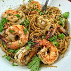 Haitian Rum & Asiago Shrimp Pasta Pastas Recipes, Shrimp Pasta Recipes, Shrimp Dishes, Pasta Dishes, Seafood Recipes, Pasta Food, Chicken Pasta, Cooking Dishes, Gourmet