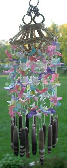 Shell Wind Chimes | click on the above picture for a larger view