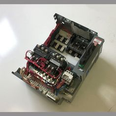 VAC 3 Phase Height Fusible Door Included Space Size 2 FWD/REV Allen Bradley 509 Series Contactors Will Install Electrical Components Into Bucket According to Customer's. Used Equipment, Electrical Components, Electric Motor, Electrical Equipment, Starters, Size 2, Bucket, Space, Floor Space