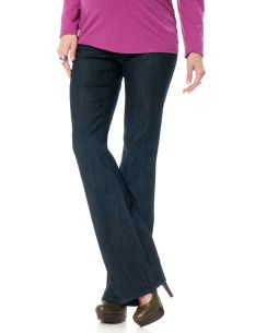 Motherhood Maternity Long No Belly Super Stretch Boot Cut Maternity Jeans