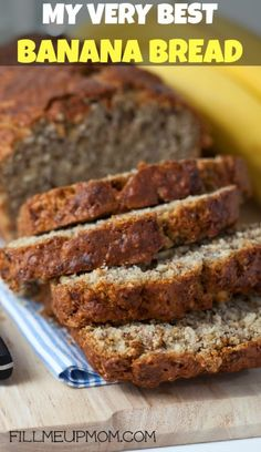 If you only ever use one recipe for banana bread make sure it is this one!