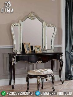 Vanity, Mirror, Interior, Furniture, Home Decor, Dressing Tables, Powder Room, Decoration Home, Indoor