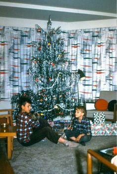 Mid century modern atomic Christmas