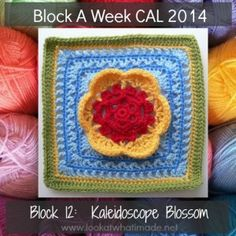 Block 13: Veronica's Rose {Photo Tutorial} - Look At What I Made