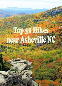 Find 75 mountain hikes near Asheville with detailed guides, photos and tips on best scenic hiking trails in the North Carolina Smoky & Blue Ridge Mountains. Camping And Hiking, Hiking Trails, Camping Cabins, Backpacking, Hiking Usa, Camping Trailers, Camping Gear, Bergen, Places To Travel