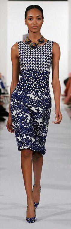Oscar de la Renta Spring 2014 Ready-to-Wear Fashion Show