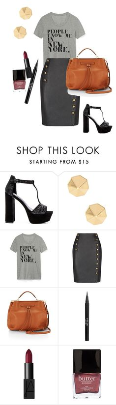 """""""how to do fabulous casually"""" by pia-soy on Polyvore featuring Rebecca Minkoff, Stila, NARS Cosmetics, Butter London and RMSF"""