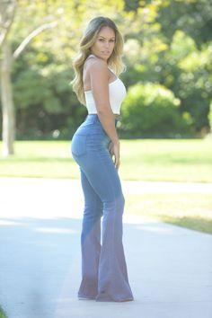 Flare Affair Jeans   Fashion Nova