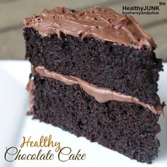 Healthy Chocolate Cake Recipe | Sharny and Julius