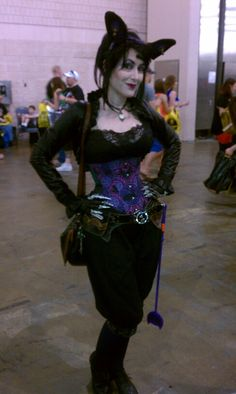 Day 4 - The Steampunkiest Catwoman ever.