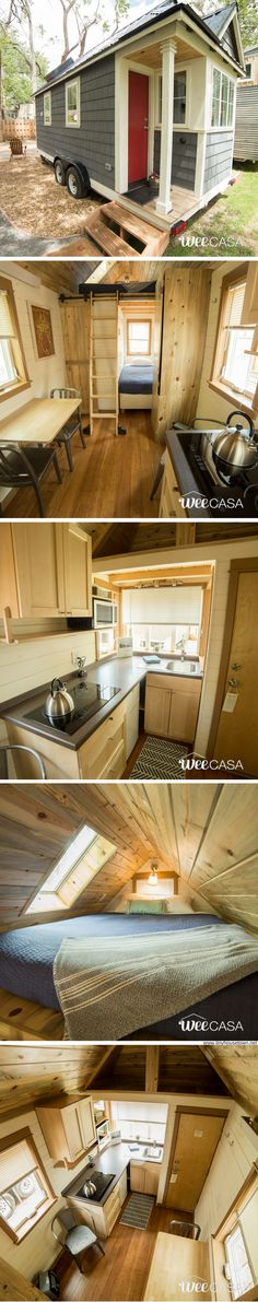 The Ritz Carlston: a beautiful 170-sq-ft tiny house, available for sale!