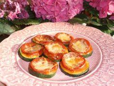 Zucchini Pizza Appetizers (Dairy/Gluten Free)