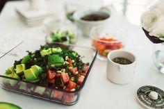 Yes PLZ! Unreal Lentil, Avocado, Tomato Salad   The Skinny Confidential   Bloglovin'