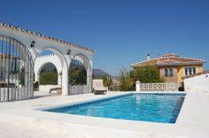 Ren bjergidyl og vild luksus på Mijas Costa. #Mijas #Andalusien #Feriebolig
