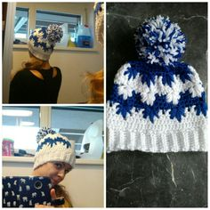 crochet frozen hat
