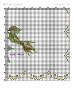 Cross Stitch Rose, Cross Stitch Borders, Vintage Roses, Diy And Crafts, Crossstitch, Poppies, Cross Stitch Flowers, Crocheting Patterns, Cross Stitch Embroidery