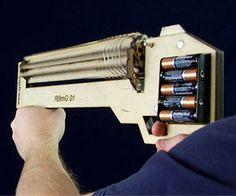 Rubber Band Machine Gun http://www.thisiswhyimbroke.com/rubber-band-machine-gun