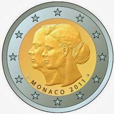 2 euro Monaco 2011, The wedding of Prince Albert and Charlene Wittstock