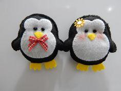 Pinguins em Feltro