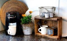 pallet coffee storage