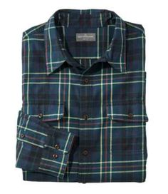Men's Signature Castine Flannel Shirt, Slim Fit, Plaid Best Flannel Shirts, Mens Flannel, Country Girl Dresses, Country Outfits, Casual Button Down Shirts, Casual Shirts, Cowgirl Outfits, Cowgirl Clothing, Cowgirl Fashion