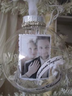 Personalized First Christmas Together Ornament - Wedding - Bride and Groom. $25.00, via Etsy.