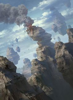 ArtStation - Magic the Gathering: Basic Lands, Tianhua Xu
