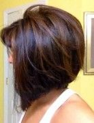 back LONGER stacked bob haircut pictures | updo hairstyle tutorials prom updos bridesmaids hairstyles for long ...