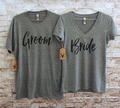 Bride Groom shirts