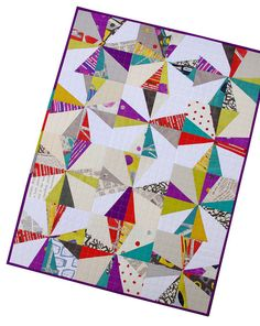 Red Pepper Quilts: Liberated Star Quilt - interesting that neither liberated star quilt is in her usual fabrics.