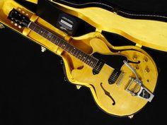 Gibson Memphis 1961 ES-330TDN w / Bigsby Figured VOS New w/ Hard case