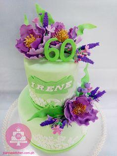 60th Birthday Cake for Mommy Irene JK Cakes 2015 Pinterest