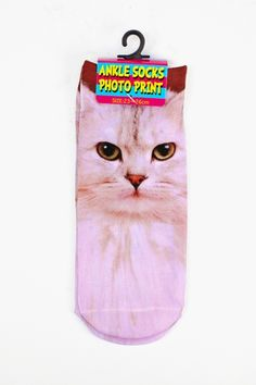 @K Lane these have to be your next purchase! Cool Cat Ankle Socks