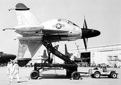 Convair XFY Pogo - 1954
