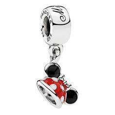 Disney Parks Minnie Mouse Ear Hat Sterling Silver Charm Pandora New Pandora Bracelets, Pandora Jewelry, Charm Jewelry, Silver Bracelets, Silver Earrings, Charm Bracelets, Bangles, Bracelet Charms, Pandora Charms Disney