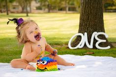 First birthday photo shoot. LDR Images