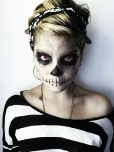 1000 images about maquillaje halloween on pinterest - Como maquillarse de zombie ...
