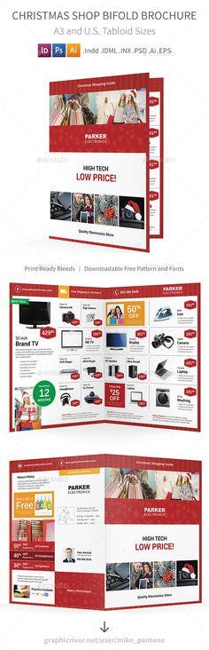 Golf Tournament Bifold / Halffold Brochure Golf, Cleanses and - half fold brochure template