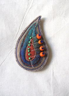 Image result for felted jewelry