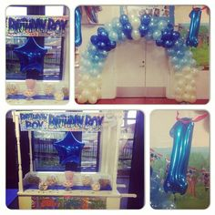 #1stbirthday #nicheevents #1stbirthdayparty #balloons #birthday #birthdayboy #birthdaybanner #balloonarch #spiralarch #1stballoons #bluetheme #blueballloons #celebrations #foilballoons #follow #happybirthday #instalike #instabirthday #lovebirthdays #party